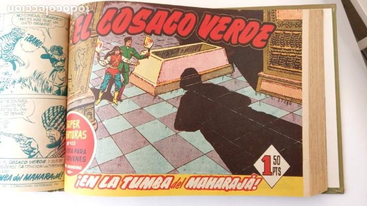 Tebeos: EL COSACO VERDE ORIGINAL 1 AL 70 - 1960 BRUGUERA, VER TODAS LAS PORTADAS - Foto 117 - 225888498