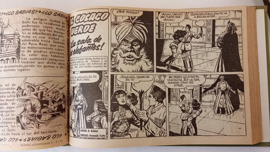 Tebeos: EL COSACO VERDE ORIGINAL 1 AL 70 - 1960 BRUGUERA, VER TODAS LAS PORTADAS - Foto 121 - 225888498