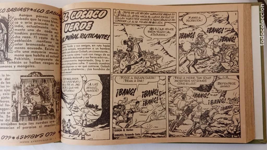 Tebeos: EL COSACO VERDE ORIGINAL 1 AL 70 - 1960 BRUGUERA, VER TODAS LAS PORTADAS - Foto 129 - 225888498