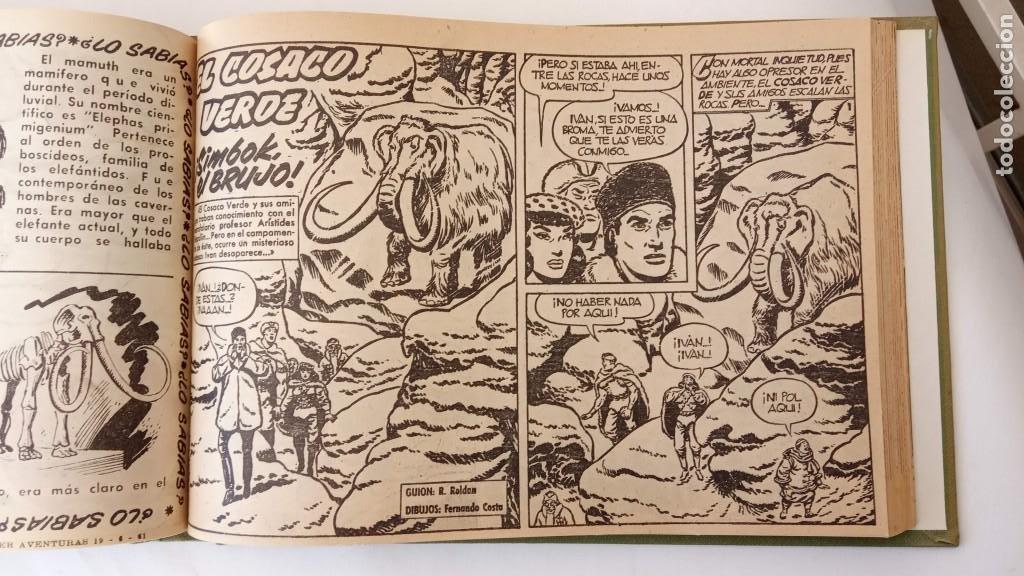 Tebeos: EL COSACO VERDE ORIGINAL 1 AL 70 - 1960 BRUGUERA, VER TODAS LAS PORTADAS - Foto 140 - 225888498