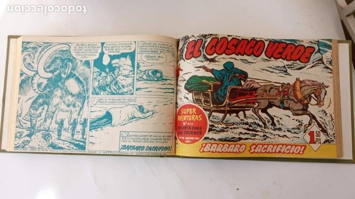 Tebeos: EL COSACO VERDE ORIGINAL 1 AL 70 - 1960 BRUGUERA, VER TODAS LAS PORTADAS - Foto 142 - 225888498