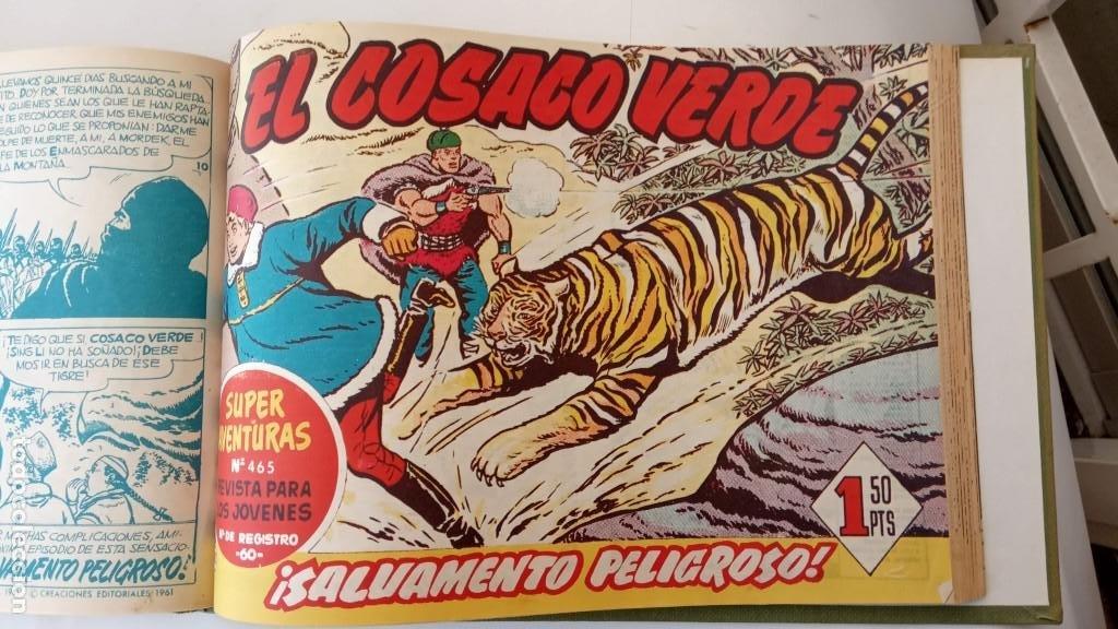 Tebeos: EL COSACO VERDE ORIGINAL 1 AL 70 - 1960 BRUGUERA, VER TODAS LAS PORTADAS - Foto 151 - 225888498