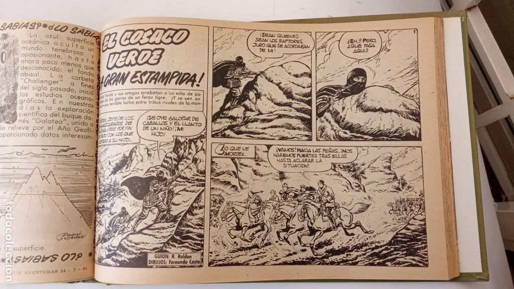 Tebeos: EL COSACO VERDE ORIGINAL 1 AL 70 - 1960 BRUGUERA, VER TODAS LAS PORTADAS - Foto 155 - 225888498