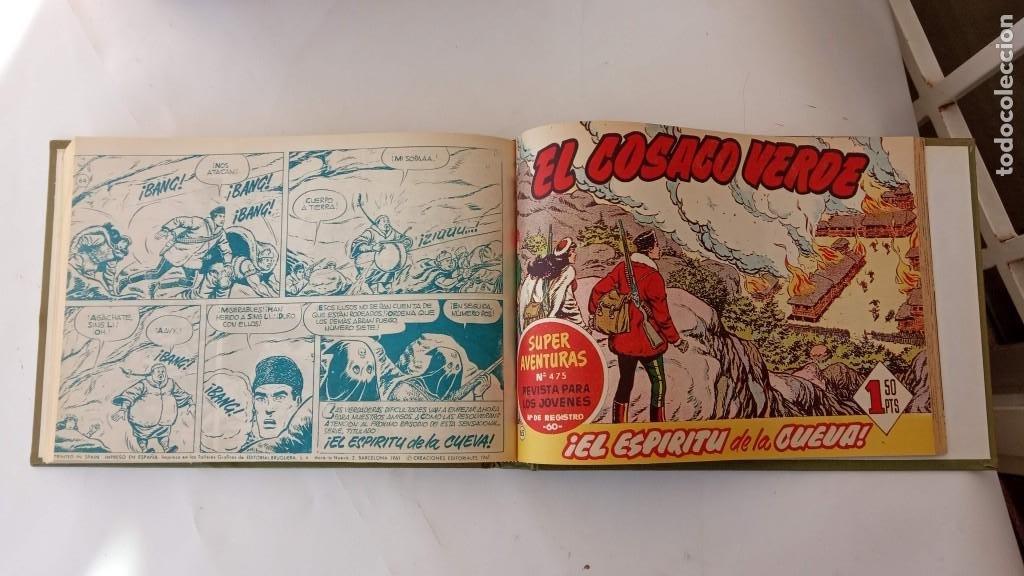Tebeos: EL COSACO VERDE ORIGINAL 1 AL 70 - 1960 BRUGUERA, VER TODAS LAS PORTADAS - Foto 161 - 225888498