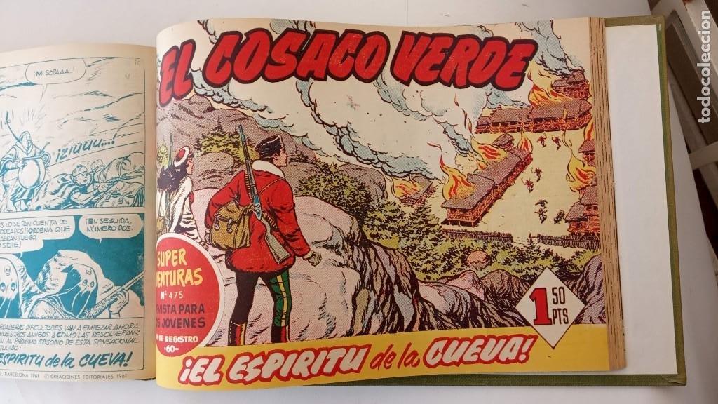 Tebeos: EL COSACO VERDE ORIGINAL 1 AL 70 - 1960 BRUGUERA, VER TODAS LAS PORTADAS - Foto 162 - 225888498