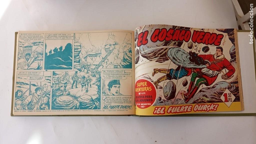 Tebeos: EL COSACO VERDE ORIGINAL 1 AL 70 - 1960 BRUGUERA, VER TODAS LAS PORTADAS - Foto 163 - 225888498