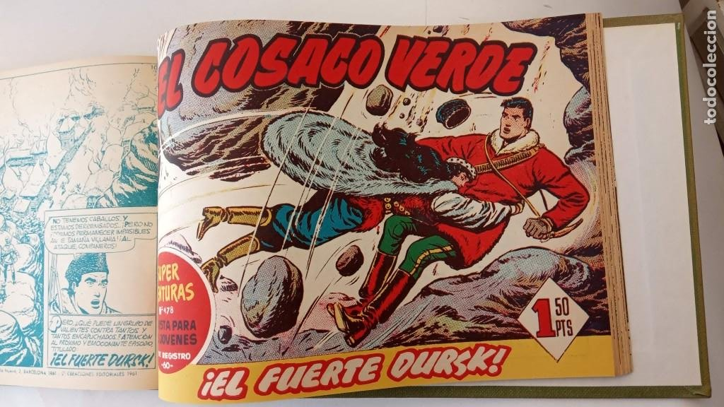Tebeos: EL COSACO VERDE ORIGINAL 1 AL 70 - 1960 BRUGUERA, VER TODAS LAS PORTADAS - Foto 164 - 225888498