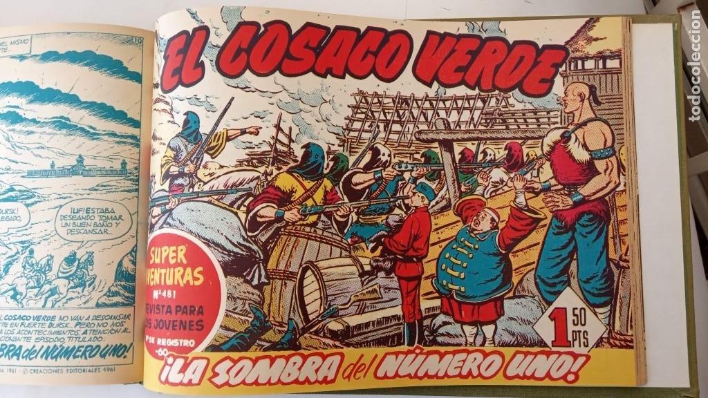 Tebeos: EL COSACO VERDE ORIGINAL 1 AL 70 - 1960 BRUGUERA, VER TODAS LAS PORTADAS - Foto 167 - 225888498