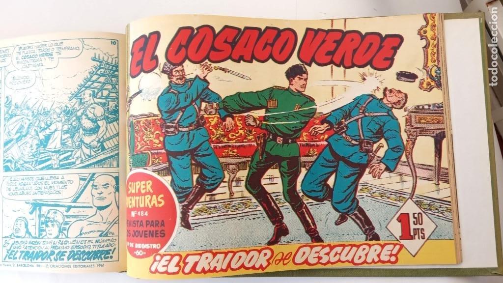 Tebeos: EL COSACO VERDE ORIGINAL 1 AL 70 - 1960 BRUGUERA, VER TODAS LAS PORTADAS - Foto 169 - 225888498