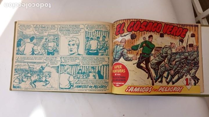 Tebeos: EL COSACO VERDE ORIGINAL 1 AL 70 - 1960 BRUGUERA, VER TODAS LAS PORTADAS - Foto 170 - 225888498