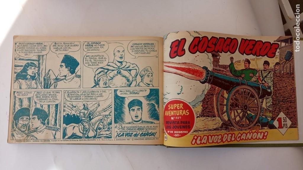 Tebeos: EL COSACO VERDE ORIGINAL 1 AL 70 - 1960 BRUGUERA, VER TODAS LAS PORTADAS - Foto 173 - 225888498
