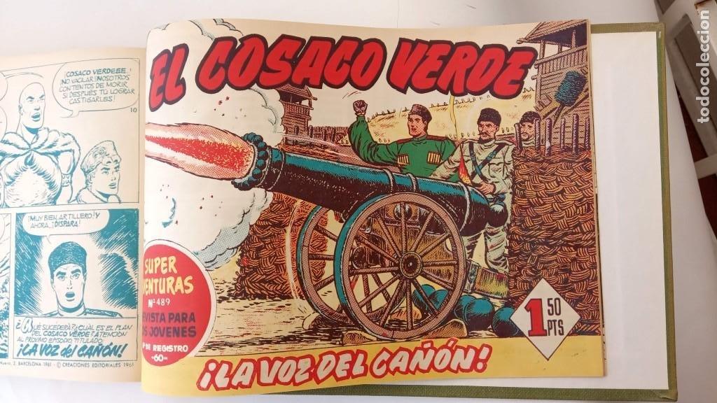 Tebeos: EL COSACO VERDE ORIGINAL 1 AL 70 - 1960 BRUGUERA, VER TODAS LAS PORTADAS - Foto 174 - 225888498