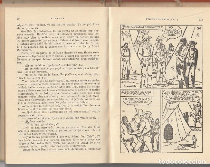 Tebeos: BONANZA Revuelta en Virginia.Colección HEROES 10.BONANZA.BRUGUERA - Foto 2 - 225945065