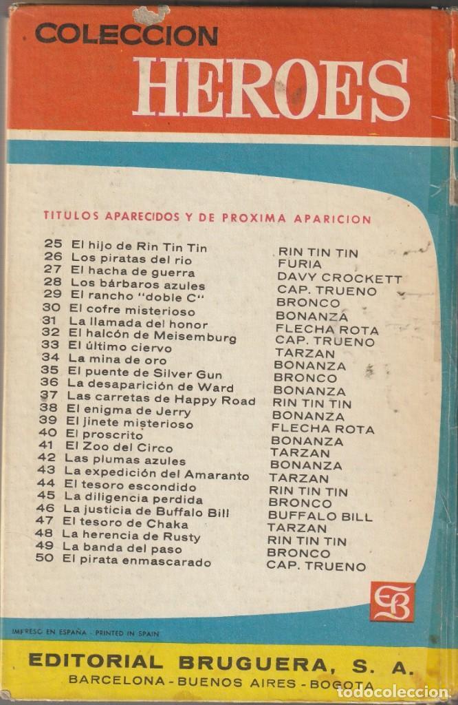 Tebeos: BONANZA Revuelta en Virginia.Colección HEROES 10.BONANZA.BRUGUERA - Foto 3 - 225945065