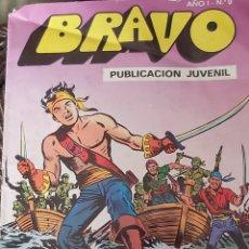 Tebeos: BRAVO,EL CACHORRO #9. Lote 226013965