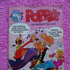Tebeos: POPEYE 3 EDITORIAL BRUGUERA 1982 COLECCIÓN BRAVO EDICIÓN 1ª. Lote 226057900