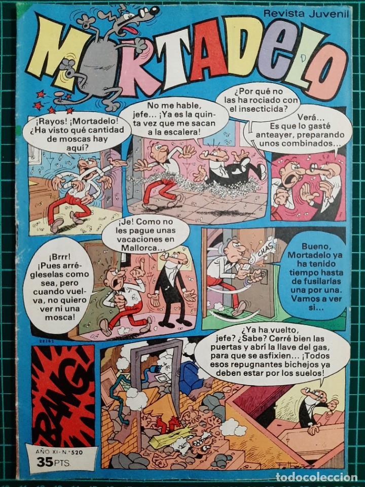 MORTADELO - REVISTA JUVENIL, 520 - BRUGUERA (Tebeos y Comics - Bruguera - Mortadelo)