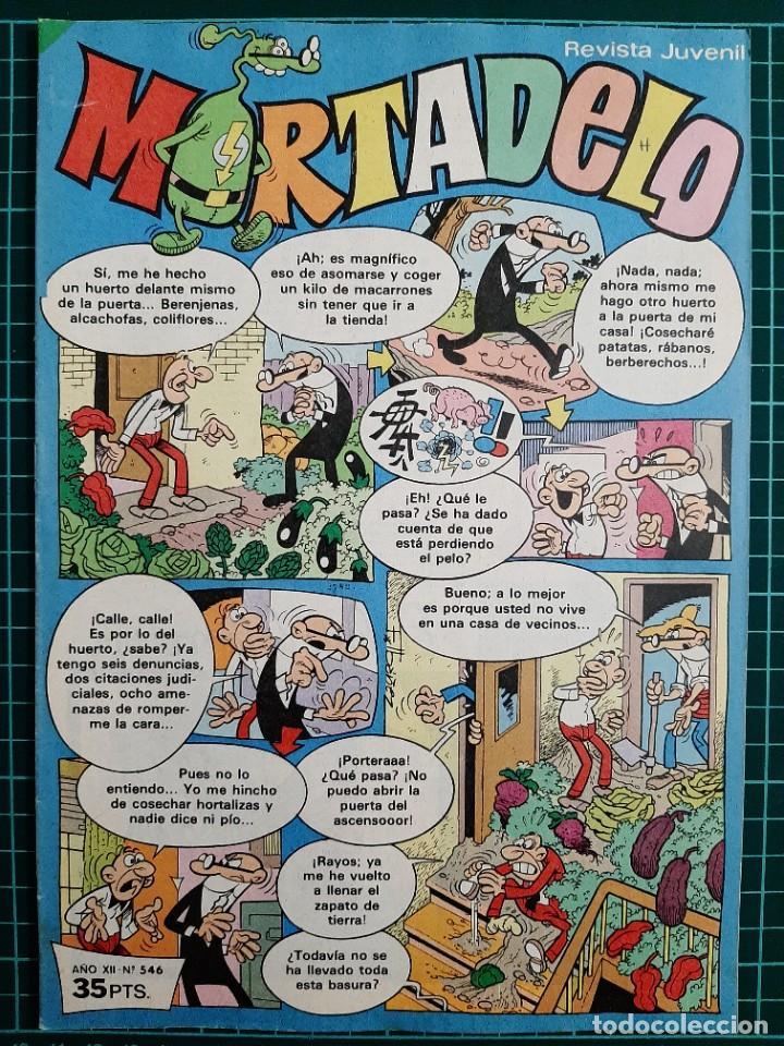 MORTADELO - REVISTA JUVENIL, 546 - BRUGUERA (Tebeos y Comics - Bruguera - Mortadelo)