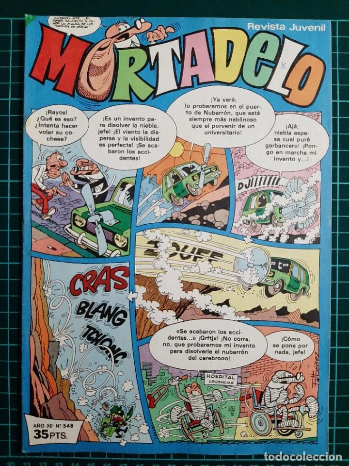 MORTADELO - REVISTA JUVENIL, 548 - BRUGUERA (Tebeos y Comics - Bruguera - Mortadelo)