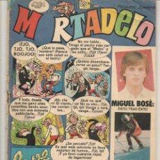 Giornalini: MORTADELO. Nº 432. TRIUNFAR EN LA ADOLESCENCIA: MIGUEL BOSÉ. BRUGUERA 1979. ( C/A5). Lote 226228035