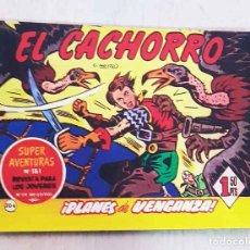BDs: EL CACHORRO. TOMO 26. PLANES DE VENGANZA. (DEL Nº 201 AL 208 / ED. IBERCOMIC) - GARCÍA IRANZO, JUAN. Lote 226301702
