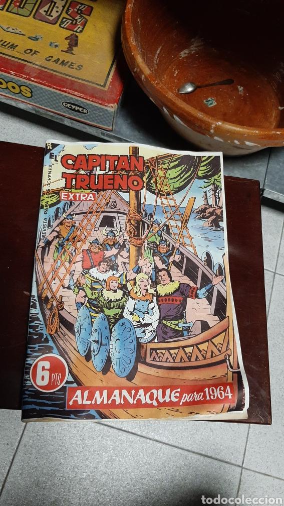 CAPITAN TRUENO EXTRA ALMANSQUE 1964V (Tebeos y Comics - Bruguera - Capitán Trueno)