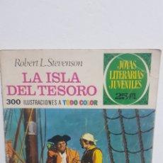Tebeos: LA ISLA DEL TESORO - JOYAS LITERARIAS JUVENILES - BRUGUERA 1975. Lote 226380146