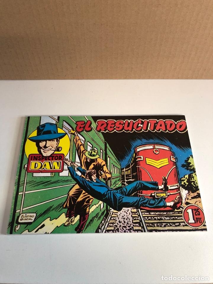 INSPECTOR DAN 1951 BRUGUERA 25,1952 EL RESUCITADO (MUY BUEN ESTADO) (Tebeos y Comics - Bruguera - Inspector Dan)
