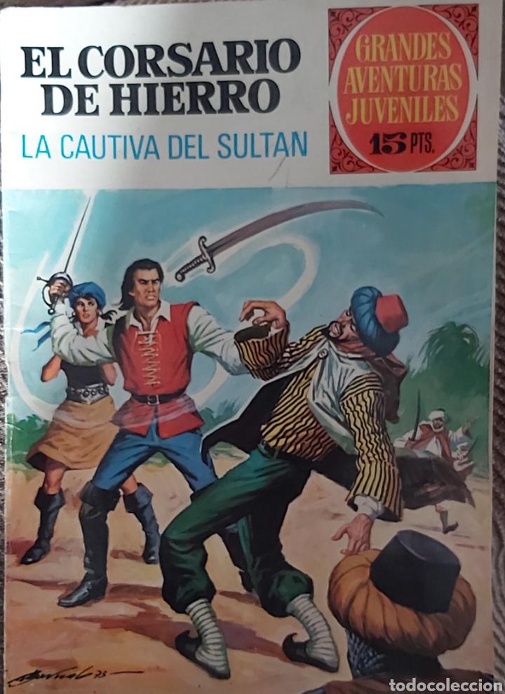 EL CORSARIO DE HIERRO,LA CAUTIVA DEL SULTAN (Tebeos y Comics - Bruguera - Corsario de Hierro)