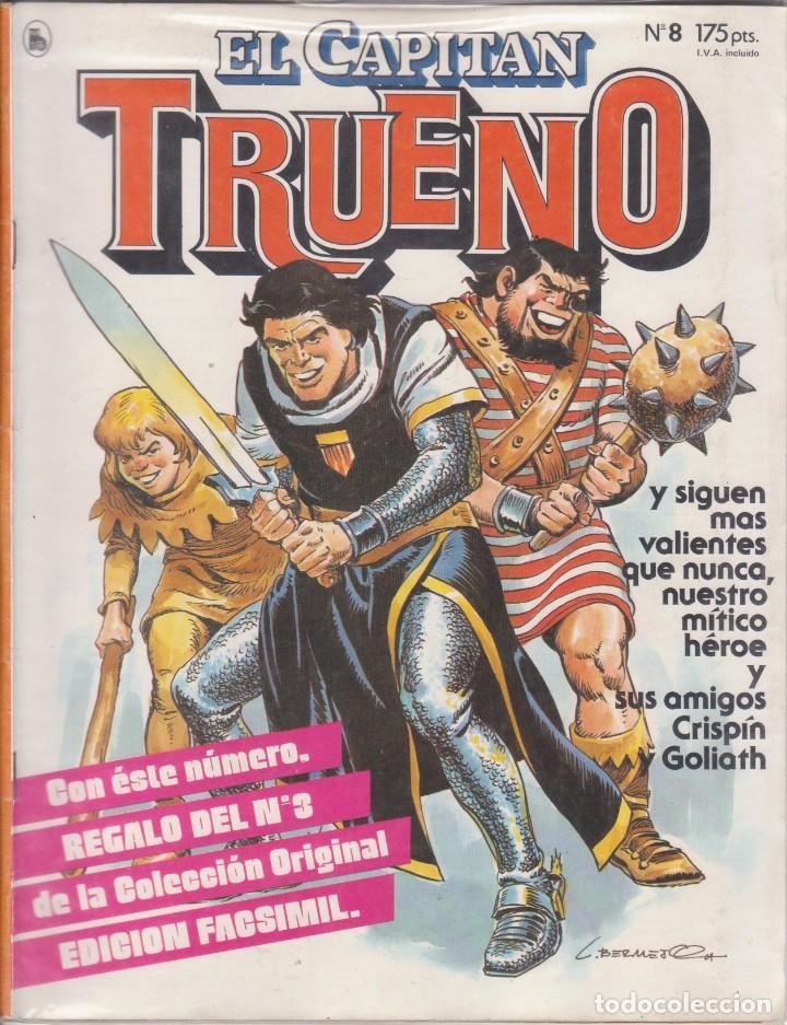 """COMIC """" EL CAPITAN TRUENO """" Nº 8 ED. BRUGUERA (Tebeos y Comics - Bruguera - Capitán Trueno)"""