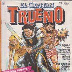 """Tebeos: COMIC """" EL CAPITAN TRUENO """" Nº 8 ED. BRUGUERA. Lote 226689887"""