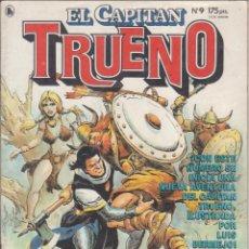 """Tebeos: COMIC """" EL CAPITAN TRUENO """" Nº 9 ED. BRUGUERA. Lote 226690060"""