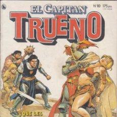 """Tebeos: COMIC """" EL CAPITAN TRUENO """" Nº 10 ED. BRUGUERA. Lote 226690280"""