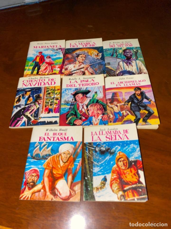 8 MINI CUENTOS BRUGUERA MINIBLIBIOTECA LITERATURA UNIVERSAL AÑOS 80 B.E. (Tebeos y Comics - Bruguera - Otros)