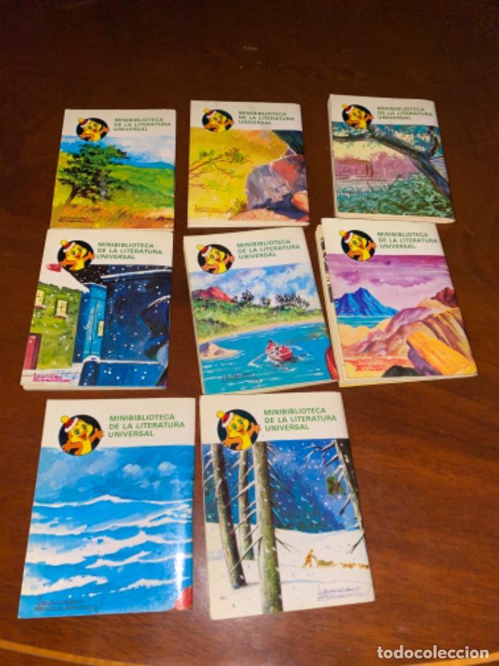 Tebeos: 8 MINI CUENTOS BRUGUERA MINIBLIBIOTECA LITERATURA UNIVERSAL AÑOS 80 B.E. - Foto 3 - 226752889