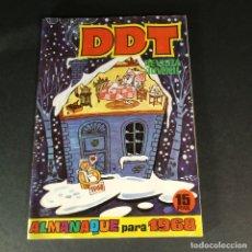 BDs: BRUGUERA DDT REVISTA JUVENIL ALMANAQUE PARA 1968 NUEVO DE KIOSCO MUY DIFICIL. Lote 226754610