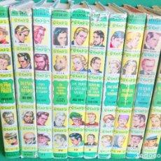 Livros de Banda Desenhada: COLECCIÓN HISTORIAS BRUGUERA - LOTE 10 LIBROS JULIO VERNE - BUEN ESTADO. Lote 226780440