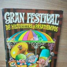 Tebeos: GRAN FESTIVAL HISTORIETAS PASATIEMPOS CIRCO DE LA ALEGRÍA 1. Lote 226790745