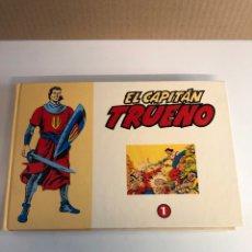 Tebeos: EL CAPITÁN TRUENO EDICIÓN EL PERIÓDICO TAPAS DURAS,COLECCIÓN DAN. Lote 226794180