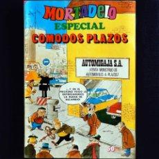 Tebeos: MORTADELO ESPECIAL Nº 13 - CÓMODOS PLAZOS - EDIT BRUGUERA - 1977 - (CON BOB MORANE) - ORIGINAL. Lote 226921270