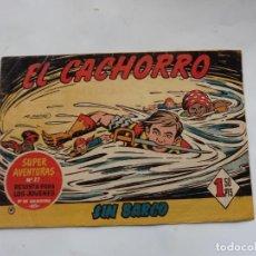 Tebeos: EL CACHORRO Nº 167 BRUGUERA ORIGINAL. Lote 227009065