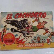 Tebeos: EL CACHORRO Nº 205 BRUGUERA ORIGINAL. Lote 227009310