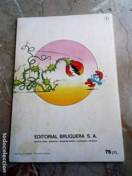 Tebeos: Los Pitufos Nº 1 1ª Edición 1979 BRUGUERA - Foto 2 - 227022257