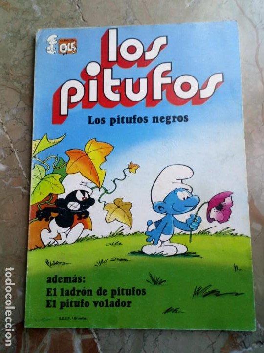 LOS PITUFOS Nº 2 1 ª EDICIÓN 1980 BRUGUERA (Tebeos y Comics - Bruguera - Otros)