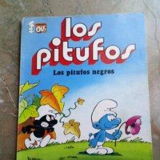 Tebeos: LOS PITUFOS Nº 2 1 ª EDICIÓN 1980 BRUGUERA. Lote 227022890