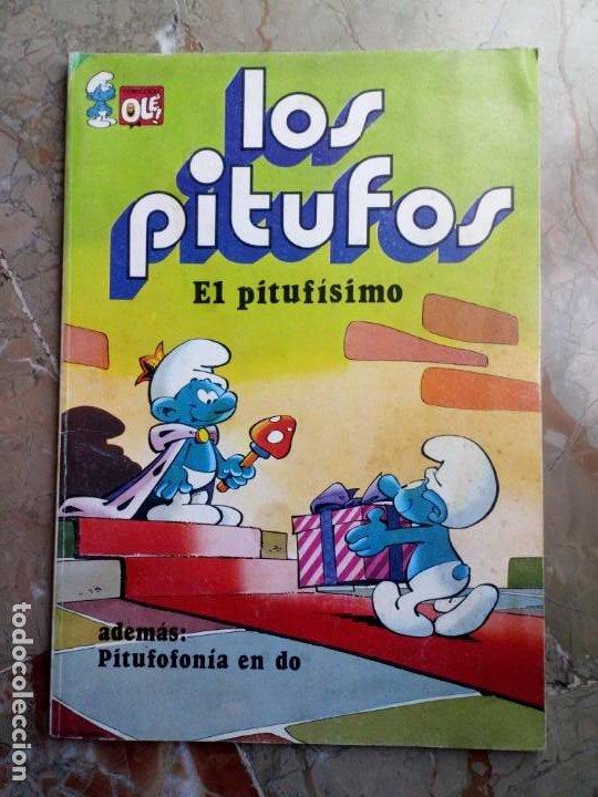 LOS PITUFOS Nº 3 1 ª EDICIÓN 1980 BRUGUERA (Tebeos y Comics - Bruguera - Otros)