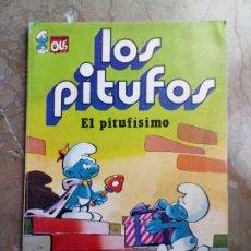 Tebeos: LOS PITUFOS Nº 3 1 ª EDICIÓN 1980 BRUGUERA. Lote 227023310