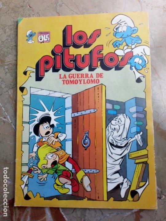 LOS PITUFOS Nº 13 2 ª EDICIÓN 1983 BRUGUERA (Tebeos y Comics - Bruguera - Otros)