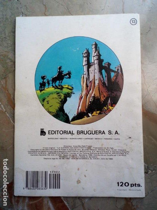 Tebeos: Los Pitufos Nº 13 2 ª Edición 1983 BRUGUERA - Foto 2 - 227023765