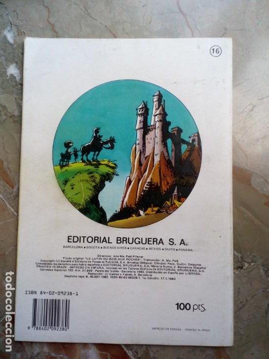 Tebeos: Los Pitufos Nº 16 1 ª Edición 1983 BRUGUERA - Foto 2 - 227024270